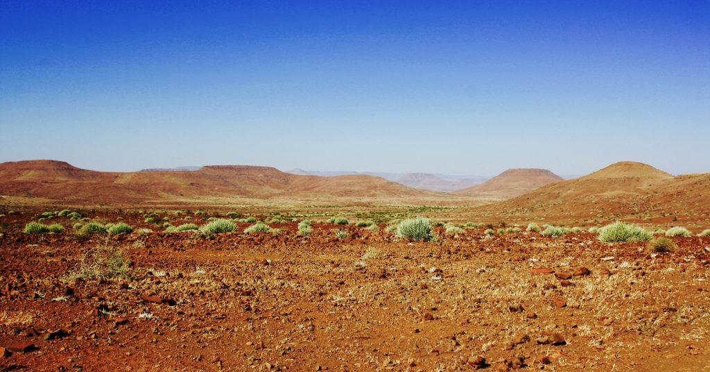 Landscape in Palmwag